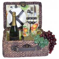 China Picnic Gift - Rumba- Basket Deluxe Service For Two on sale