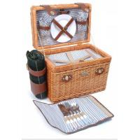 Picnic & Beyond Brio Collection - (B) 2 Person Willow Picnic Basket Manufactures
