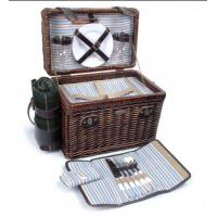 Picnic & Beyond Brio Collection - (A) 2 Person Willow Picnic Basket Manufactures