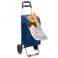Picnic Time Cart Cooler on Wheels with Removeable Tote, Navy Manufactures