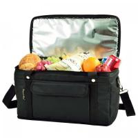 Picnic at Ascot Hybrid Semi-Rigid Folding Cooler- Black Manufactures