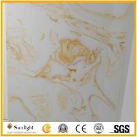 Buy cheap white/yellow artificial onyx from wholesalers