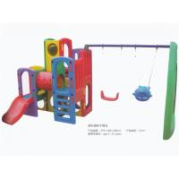 China Kids Plastic Swing Set for Sale Kids Play Swing Set with Slides Used in Kindergarten and Park on sale