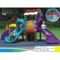 Buy cheap Kids Plastic Outdoor Playground Equipment Amusement Park Equipment Outside for Children from wholesalers