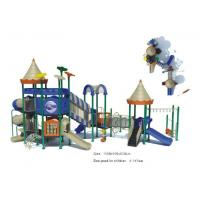 Buy cheap Large Size Kids Playground Equipment Sets Backyard Playsets in Preschool and Park from wholesalers