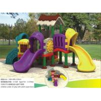 Buy cheap Kids Outdoor Playground Equipment 2017 Latest Kids Plastic Outdoor Play Structures from wholesalers