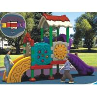 Buy cheap Competitive Price Kids Outdoor Plastic Playground Structures Used in Kindergarten and Park from wholesalers