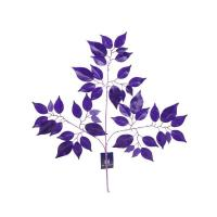 YSL0047A 3 branches of cherry leaves with dyeing