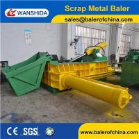 WANSHIDA Automatic Scrap metal baler diesel engine drive with hopper with CE Certificate Manufactures