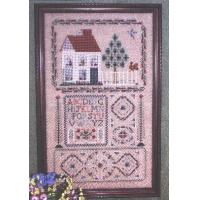 Buy cheap Art Canvases #S-1186. Rosewood Manor Sampler from wholesalers