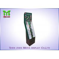 Foldable corrugated material cardboard hooks display stands for Mobile phone accessories Manufactures