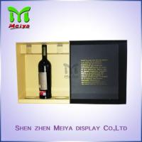 China Cardbaord Personalized packaging boxes , Red Wine gift boxes Luxury on sale