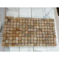 Buy cheap Rainforest Yellow Marble Mosaic from wholesalers