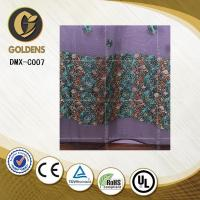 Jacquard embroidery lace curtain fabric made in china DMX-C007 Curtain