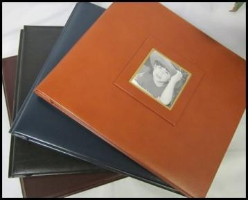 Quality Bonded Leather 12 x 12 Memory Book for sale