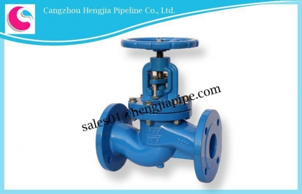 China DIN ANSI JIS Cast Iron Flange Globe Valve