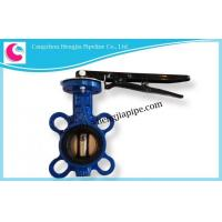 Quality DIN BS EN ANSI JIS KS GOST PN16 PN10 D71H-16C Butterfly Valve Factory for sale