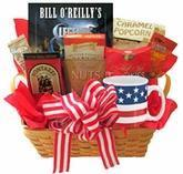 Buy cheap All American Gift Basket with Book and Snacks from wholesalers