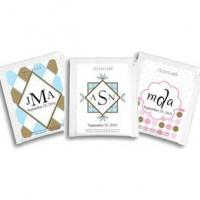 China Personalized Monogram Tea Wedding Favors (25 Designs Available) on sale