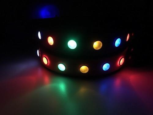Quality 2017 Night Safety Dog Collar Waterproof LED Pet Flashing Collar made from PVC for sale
