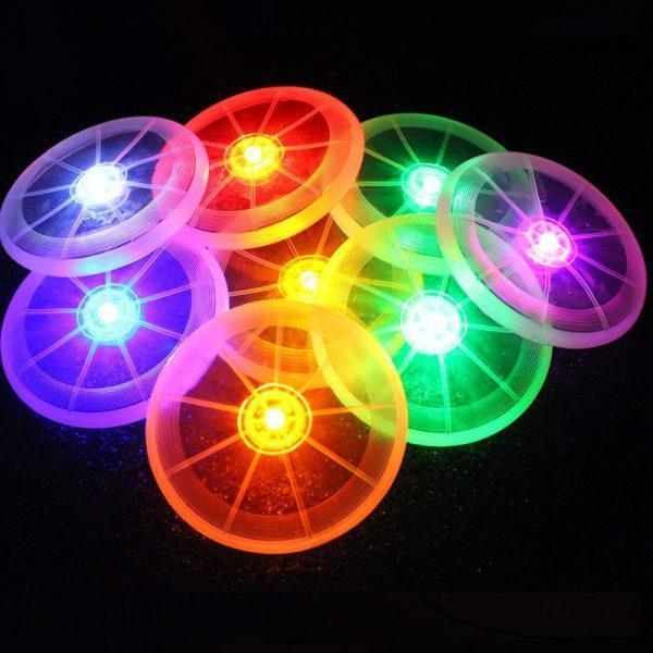 Quality 2017 New Arrival- Led luminescent frisbee/dog playing frisbee for sale