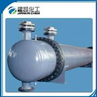 Spiral Baffle Floating Head Aluminized Steel Tube Water Cooling Heat Exchangers Manufactures
