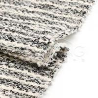 HR83744Acrylic-polyester-cotton blended multi stripe sweatshirt knit fabric Manufactures