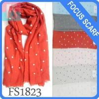 dots pattern Women Fashion Long Style Wrap scarf