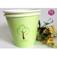 Buy cheap Green 32oz Custom Flexo Print Round Paper Container For Plant from wholesalers