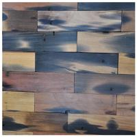A15601 - Reclaimed Wood Wall Paneling Interior Wall Tiles 4 X 16 In Manufactures