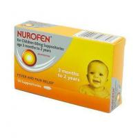 Nurofen For Children 60mg Suppositories (3-24 Months) 10 Pack Manufactures