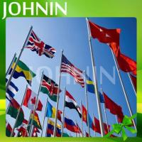 Hot Selling All Size Of Polyester Fabric Johnin Country National Flag