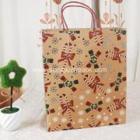 Christmas Recyclable paper bag Manufactures