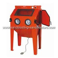 FB-C07 Heavy Blast Cabinet for Industrial Sandblasting Applications 990L Manufactures