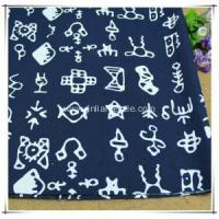 100% Cotton Woven Printed Fabric For Dress Manufactures