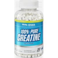 Body Attack 100% Pure Creatine - 240 Caps Manufactures