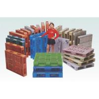Buy cheap Plastic Pallets Standard Pallet | Rack Pallet | Light Pallet | Double-surface Pallet from wholesalers