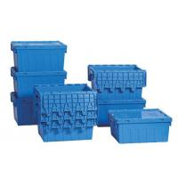 Buy cheap Attached Lid Containers| Stack Nest Crate from wholesalers