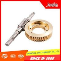 Buy cheap Hot Selling Good Quality Precision Finishing Parts Worm and Gear from wholesalers