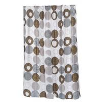 China Madison Fabric Shower Curtain by Carnation Home Fashions on sale