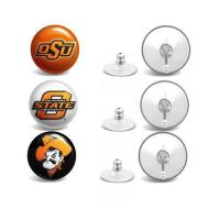 Buy cheap Oklahoma State Cowboys Stud Earrings 3 Pairs from wholesalers