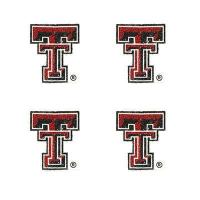 Texas Tech Glitter Tattoos 4 Pack Manufactures