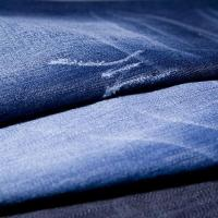 China middle thickness pure cotton denim slubbed fabric on sale