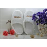 Good Quality 5 Star Velvet Disposable Hotel Slipper Manufactures