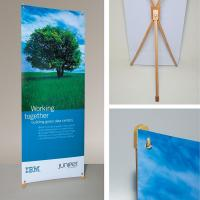Bamboo X banner stand Manufactures