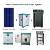 Quality 5KW Uninterrupted Solar Power System for sale