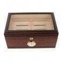 Quality The Bally V 125 Cigar Glass Top Humidor for sale