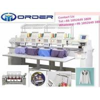 4 Head Easy to use and reliable industrial computerized embroidery machine Manufactures