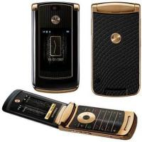 China Cell Phones Motorola RAZR2 V8 18K GOLD EDITION PHONE on sale