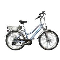 Buy cheap MTB E-bike 26 Aluminum alloy frame bycicle for lady with 8FUN 250w front motor from wholesalers
